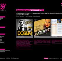Diseño web. Un proyecto de Diseño de Sara Graphika  - Viernes, 27 de diciembre de 2013 00:00:00 +0100