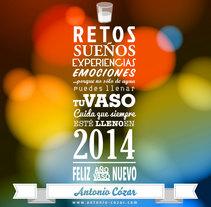 Felicitación navideña / Christmas card. A Design, Illustration, and Advertising project by Antonio Cózar         - 30.12.2013