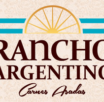 RANCHO ARGENTINO | Carnes Asadas. A Design, and Advertising project by Rodolfo Mastroiacovo - 06-01-2014