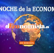 La Noche de la Economía. III Edición. Un proyecto de Música, Audio, Cine, vídeo y televisión de Kiko  Fraile - 08-01-2014