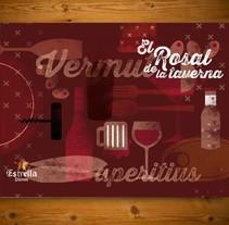 Taverna del Born y Rosal. Um projeto de Design de Anna  Pujadas Baqué         - 19.09.2013