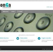 Sitio web para LaConga Comunicación. A Software Development, UI / UX&IT project by Iván González - 20-01-2014