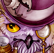 Fantasy Owl. A Illustration project by Oscar Tello Martín         - 22.12.2013