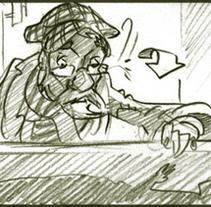 storyboards...Defectuosos animated shortfilm. Un proyecto de Cine, vídeo, televisión y Animación de Jon Ferlop - 26-01-2014