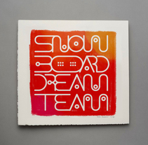 SNOWBOARD DREAMTEAM. A Art Direction, Graphic Design&Illustration project by Antón Veríssimo - Jan 28 2014 12:00 AM