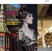 Revista Singulare - Maquetación. Un proyecto de Diseño gráfico de Estela Choclán - Viernes, 31 de enero de 2014 00:00:00 +0100