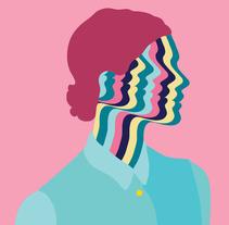 Pattern Portraits I. A Illustration project by Marina Esmeraldo - 02.06.2014