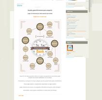 Tic Tac Bank 2. Um projeto de Web design de Jose Luis Torres Arevalo         - 06.02.2014