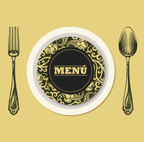 Menú. Un proyecto de Diseño gráfico de Julia  Martínez Bonilla         - 08.02.2014