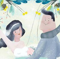 Winter Weddings - The Baltimore Sun USA. Un proyecto de Ilustración y Diseño editorial de Marisa Morea         - 10.02.2014