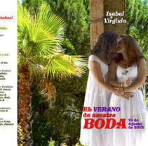 Invitación y revista fotográfica. Um projeto de Design gráfico de Virginia Vidal Fernández         - 18.02.2014