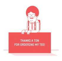 Thanks!. A Illustration project by Javier Arce - Feb 19 2014 12:00 AM