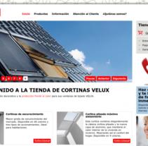 Velux: creación de sistema de presupuestos online. A Software Development project by Punto Abierto   - 23-02-2011