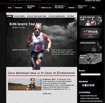 BLOG INSPIRE YOUR LIFE. A Web Development project by Jose Balaguer Aledon         - 19.02.2014