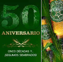 50 aniversario Estrella de Levante . A Design, Illustration, Advertising, and Design Management project by Oscar Tello Martín         - 14.01.2014