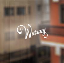 El Warung. A Design, Illustration, Art Direction, Br, ing&Identit project by Nicolás Gallardo         - 04.03.2014