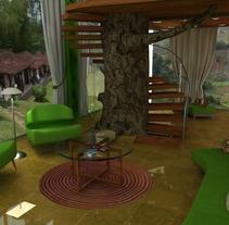 Hotel Viñales. Um projeto de Design de interiores de Yordany Ovalle Muñoz         - 09.03.2014