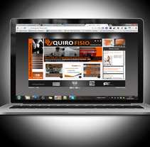 quirofisio web. A Web Design project by Josefa Lopez Guerrero - Mar 10 2014 12:00 AM