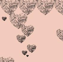 HEART ALL OVER . Un proyecto de Diseño, Diseño gráfico, Diseño de jo y as de PILAR SIERCO CHÉLIZ         - 10.03.2014