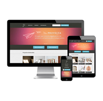 PROYECTA. A Web Design, UI / UX&Information Architecture project by anna pons  - Feb 11 2014 12:00 AM