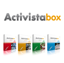 Packs donaciones ACTIVISTABOX - Setem. A Advertising, Graphic Design, and Web Design project by anna pons  - 14-12-2011
