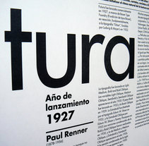 Cartel Futura. A Graphic Design, Information Architecture, T, and pograph project by Laie Ortin Muñoz         - 11.11.2011