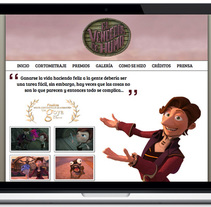 El Vendedor de Humo Web Site. A Film, Video, TV, Web Development, and Web Design project by Angel Martinez  - Mar 25 2014 12:00 AM