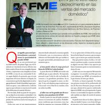 ENTREVISTA A FRANCESC ACÍN, PRESIDENTE DE AFME. A Writing project by Albert López Corbella         - 24.02.2014