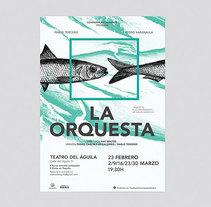 La Orquesta. Un proyecto de Diseño, Fotografía y Dirección de arte de Sonia Castillo         - 25.03.2014
