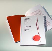 Batutas de tejer (música). A Design, Editorial Design, and Graphic Design project by Juan Jareño  - 27-03-2014
