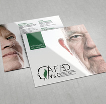Flyer: AFAD. A Graphic Design project by Miguel Pande         - 27.03.2014