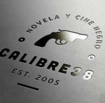 Logo Calibre38. A Graphic Design project by Juan Millán Bruno - 28-03-2014