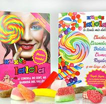 Xuxes La Lola. A Design, Graphic Design, and Photograph project by Jordi Calveres Navinés - Feb 14 2014 12:00 AM