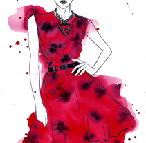SS2014 Fashion Week. A Illustration project by Raul Viera         - 31.03.2014