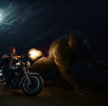 Shadow Hunters (Road Warrior). A Illustration project by Carlos Jobani Alguacil         - 31.03.2014