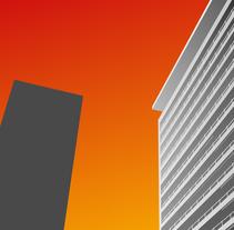 Building at dusk. Un proyecto de Ilustración de Zahira Rodríguez Mediavilla - Miércoles, 02 de abril de 2014 00:00:00 +0200