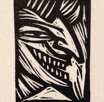 Ilustración en negro y rojo. Un proyecto de Diseño, Ilustración y Bellas Artes de Charlie Ramirez - 02-04-2014