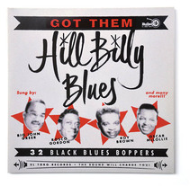 Hill Billy Blues. Portada para disco.. A Graphic Design, T, and pograph project by Ivan Castro - Apr 07 2014 12:00 AM