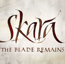 Skara, The Blade Remains. Imagen para videojuego.. A Br, ing, Identit, T, and pograph project by Ivan Castro         - 06.04.2014
