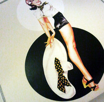 Invitación para Anna. A Graphic Design project by Núria   Zapatero Sánchez         - 06.04.2014