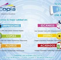 Volante / T-Copia. Um projeto de Design gráfico de Martha Midori nicolas huaman         - 06.11.2013