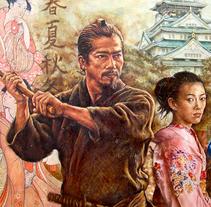 En Japón. A Painting project by Gonzalo G. Espasandín - 04.08.2014