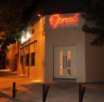 Oprah Eventos. Un proyecto de Publicidad, Dirección de arte y Diseño gráfico de CELINA SABATINI Diseño & Comunicación Estratégica - 10-04-2014