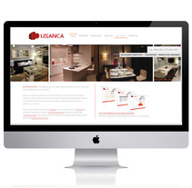 Usanca. A Br, ing, Identit, Web Design, and Web Development project by Elena Bellido - 13-01-2014