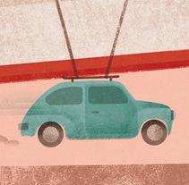 Cartel CALVIN JOHNSON. Um projeto de Ilustração, Música e Áudio e Design gráfico de Luis Demano         - 23.04.2014