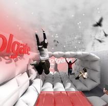 Colgate (concept store). Um projeto de Publicidade, 3D e Design de interiores de Álex Ollero - 29-04-2014