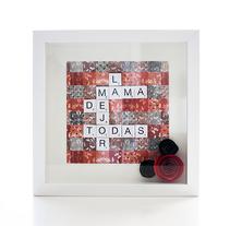 Cuadros Scrabble. Un proyecto de Artesanía, Bellas Artes y Diseño gráfico de Alexandra Fernández Tello - 03-05-2014