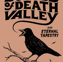 Sounds Of Death Valley - Poster. A Illustration, and Graphic Design project by Lorenzo Pierro         - 05.05.2014
