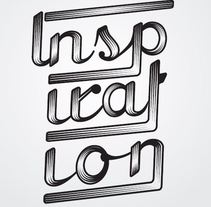 Inspiration. A Design, Illustration, Graphic Design, Screen-printing, T, pograph, and Writing project by SergioVargas         - 06.05.2014