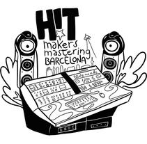 Hitmakers 2014. Un proyecto de Ilustración, 3D y Diseño gráfico de Aaron Arnan - 06-05-2014